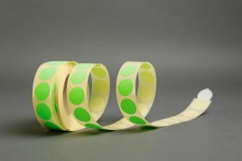 Zöld színű kör öntapadó